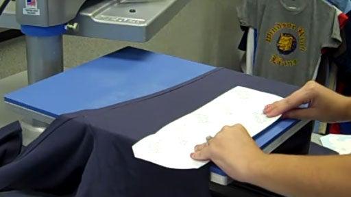 applying a large leg transfer