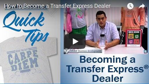 how to become a Transfer Express dealer