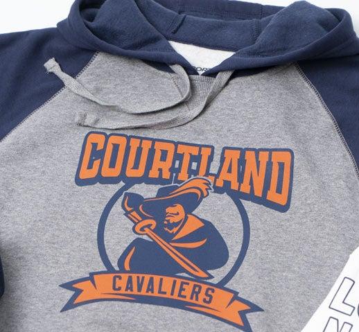 Hot Split Retro soft screen printed transfer on soft hoodie