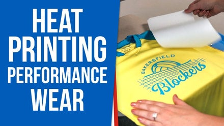 heat printing performance wear