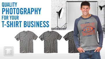 quality photography for your t-shirt business
