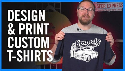 The EASIEST Way To Design & Print T-Shirts