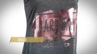 add some fashion to your prints with foil