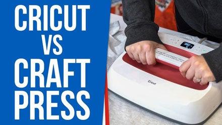 Cricut Easy Press vs Craft Heat Press