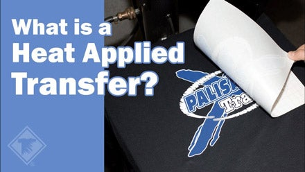 what is a heat applied transfer