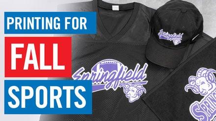 printing for fall sports apparel webinar