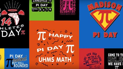 custom apparel for pi day