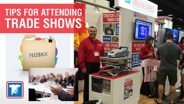 tips for attending a tradeshow