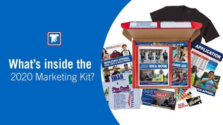 t-shirt business marketing kit