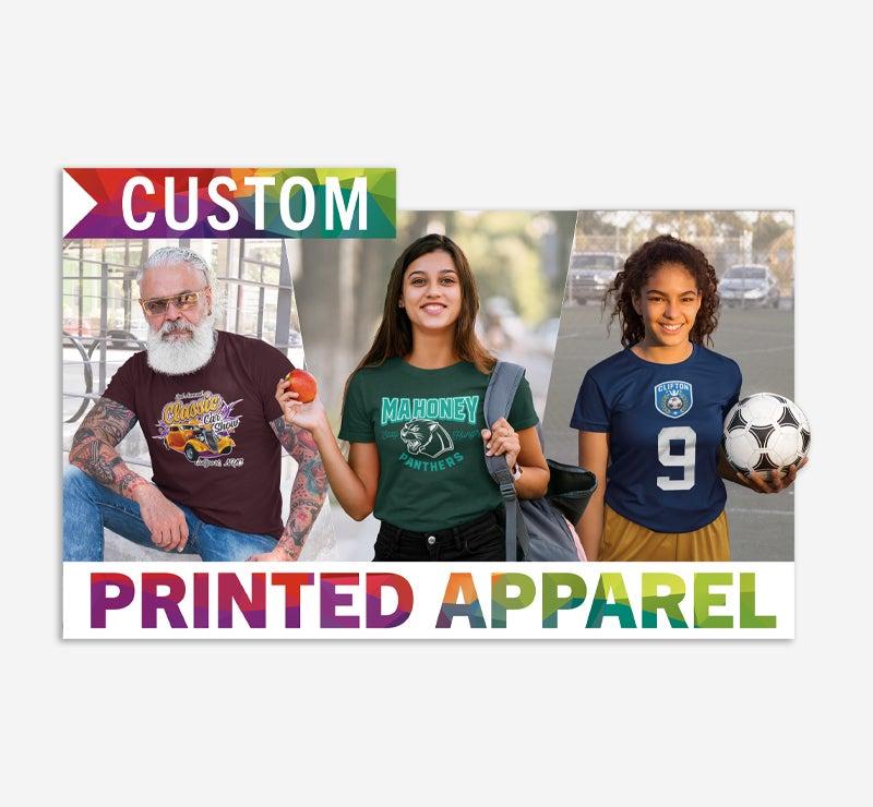 custom printed apparel window decal