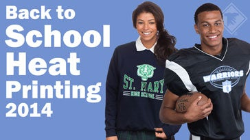 back to school apparel heat printing