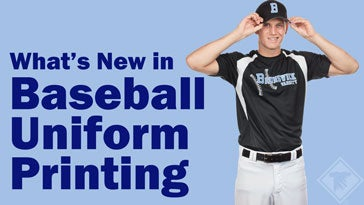 what's new in baseball uniform printing