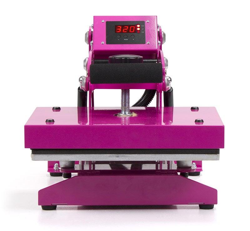 pink craft heat press