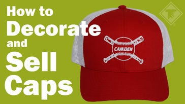 how to decorate and sell caps
