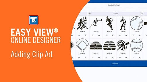 adding clip art in Easy View
