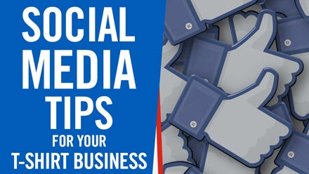 social media tips for your t-shirt business