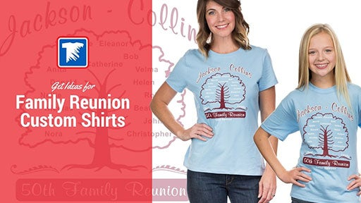 family reunion custom shirts