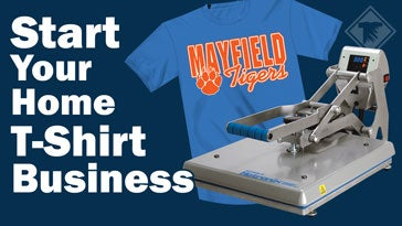 start your home t-shirt business