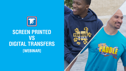 screen printed vs digital transfers