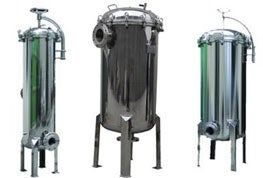 Industrial Multi-Round Stainless Steel Filter Housing