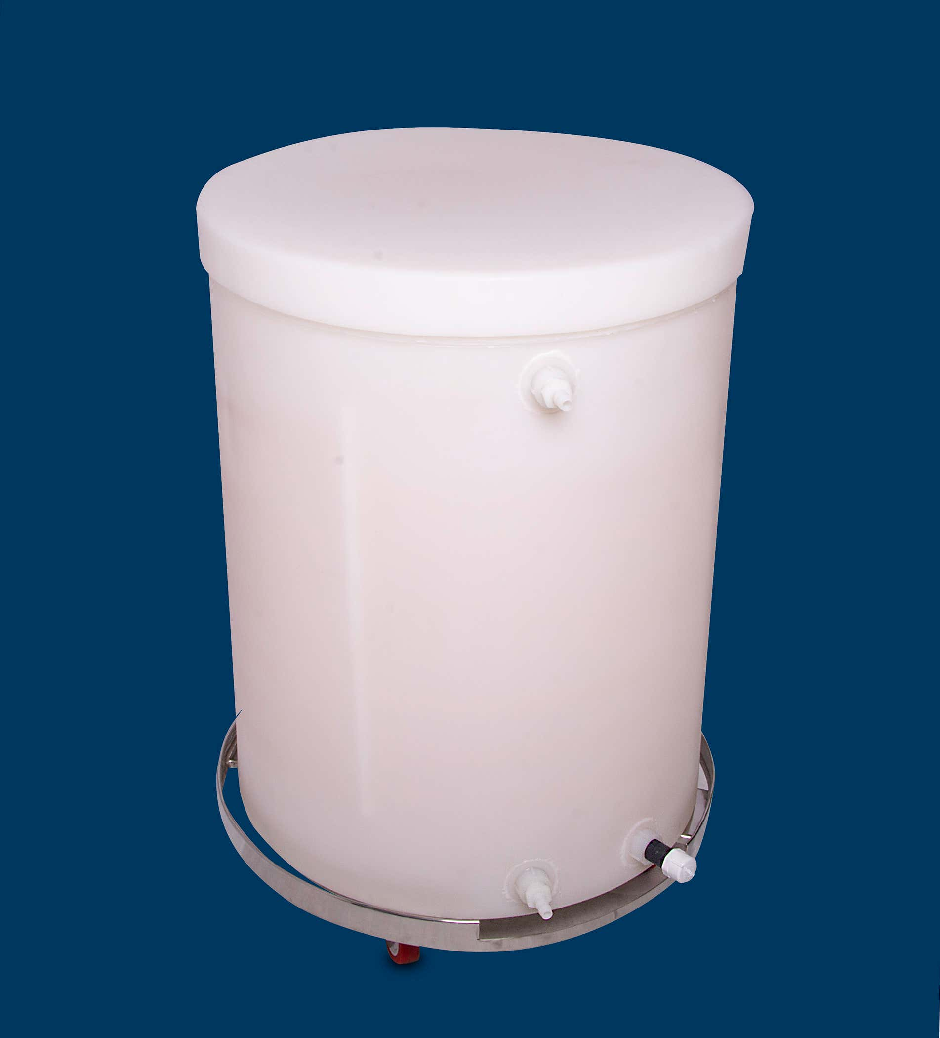 Plastic Jacketed Tank with Coaver
