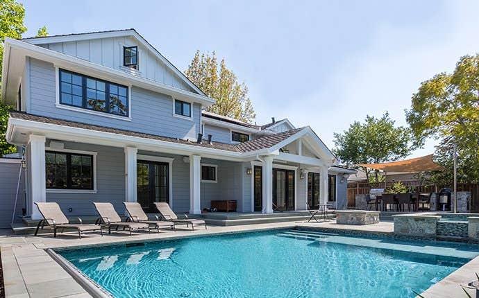 nice house with a pool