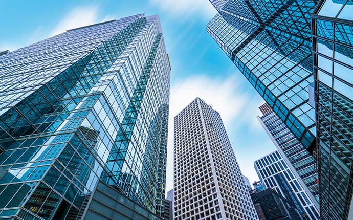 tall commercial buildings