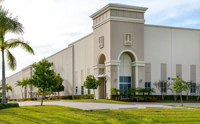 a huge commercial building in contra costa