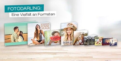 fotodarling Fotobuch Formate