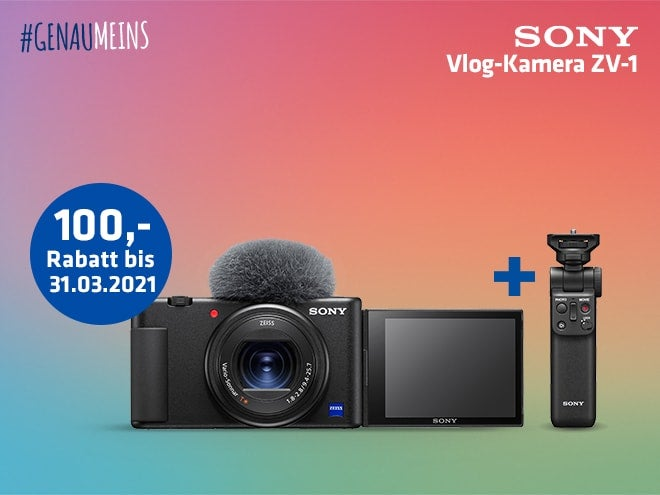 Sony Vlogging Angebot