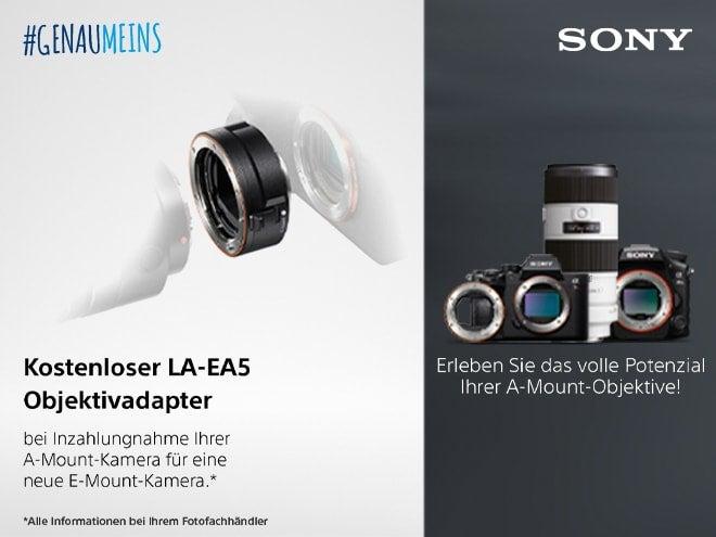 Sony Alpha Eintauschaktion