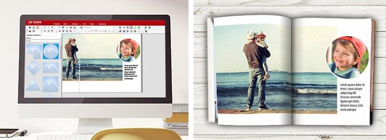 Fotobuch-Design
