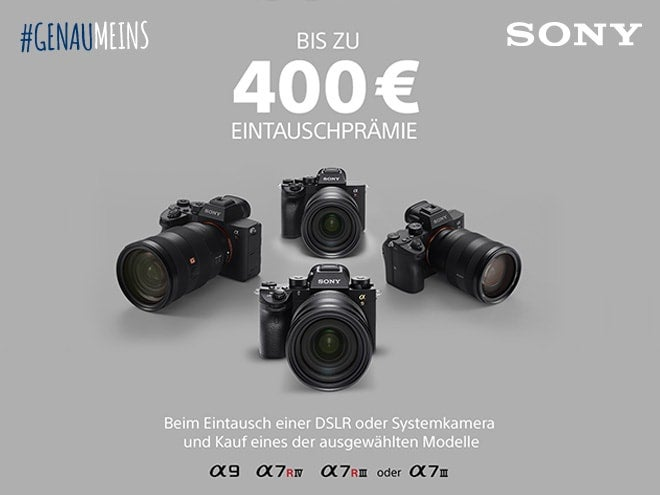 Sony Eintauschaktion - Bis zu 400,- Prämie sichern