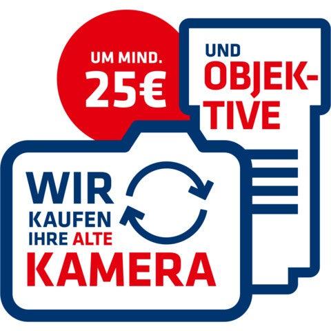 Kamera- und Objektivrückkauf