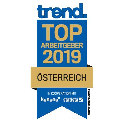 trend. Top Arbeitgeber 2019