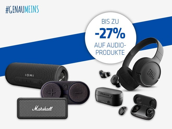 Audio Osteraktion - bis zu -27% sparen