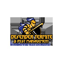 defender termite and pest management logo