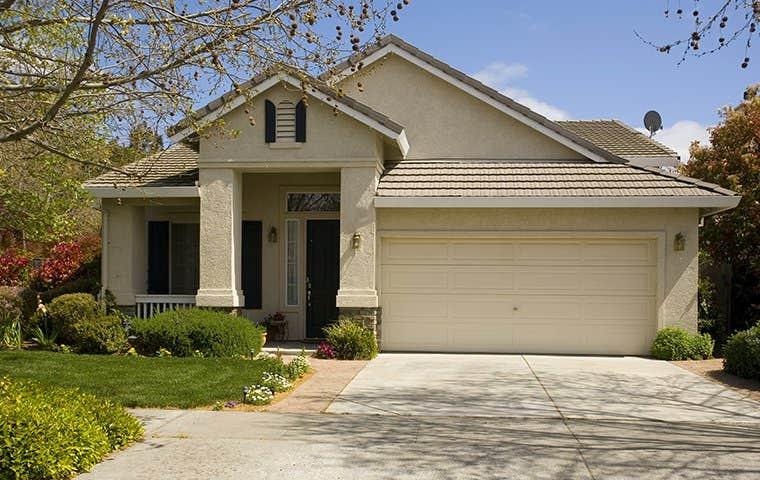 front of a house in el dorado hills california