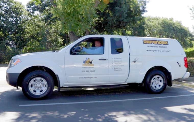 a company van in sacramento california