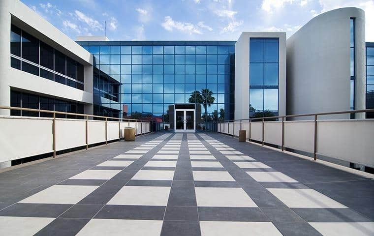 Commercial Courtyard