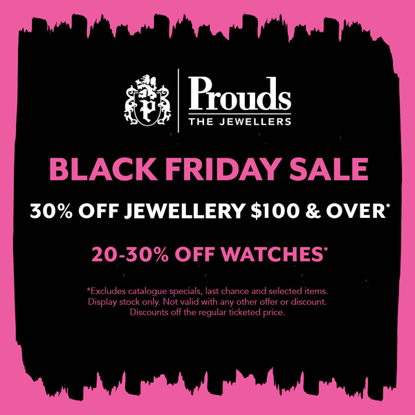 Black Friday Sale at Prouds
