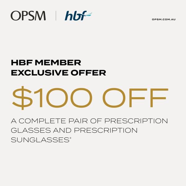 OPSM HBF offer