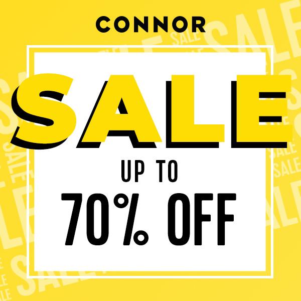 Connor 70% off