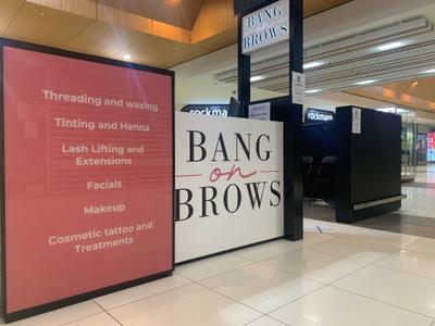 Bang on Brows