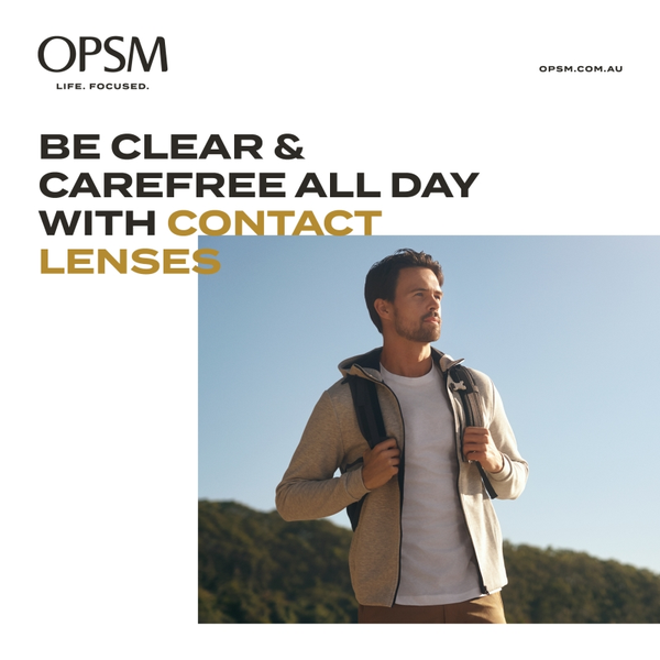 OPSM CONTACT LENSE