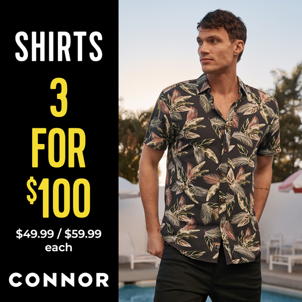 Connor 3 for 100