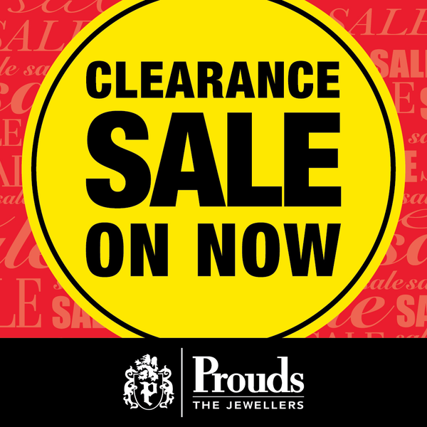 Prouds Clearance Sale