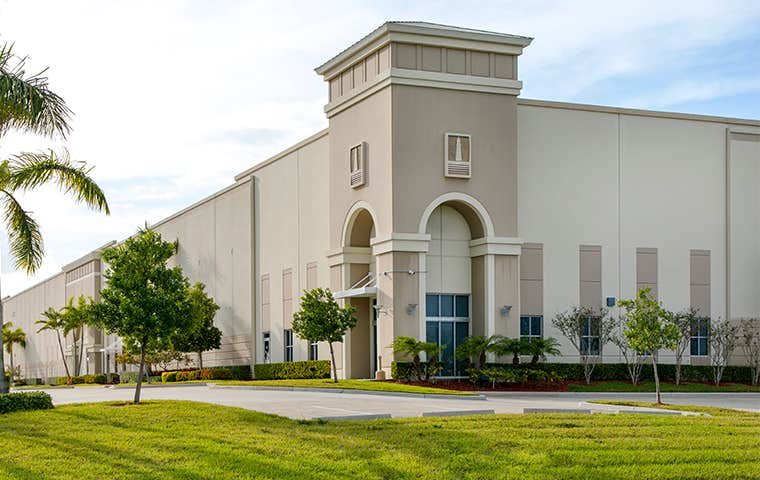 a commercial building in south florida