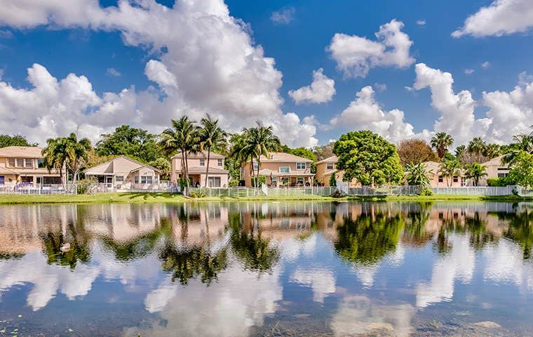 a suburb in south florida