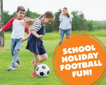 School Holiday Football Fun